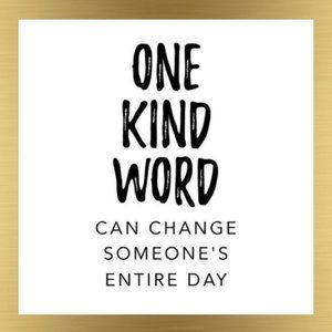 Other - ONE KIND WORD...